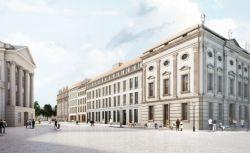 So wird die Eckbebauung Am Alten Markt 17 / Schloßstraße 1-3 aussehen